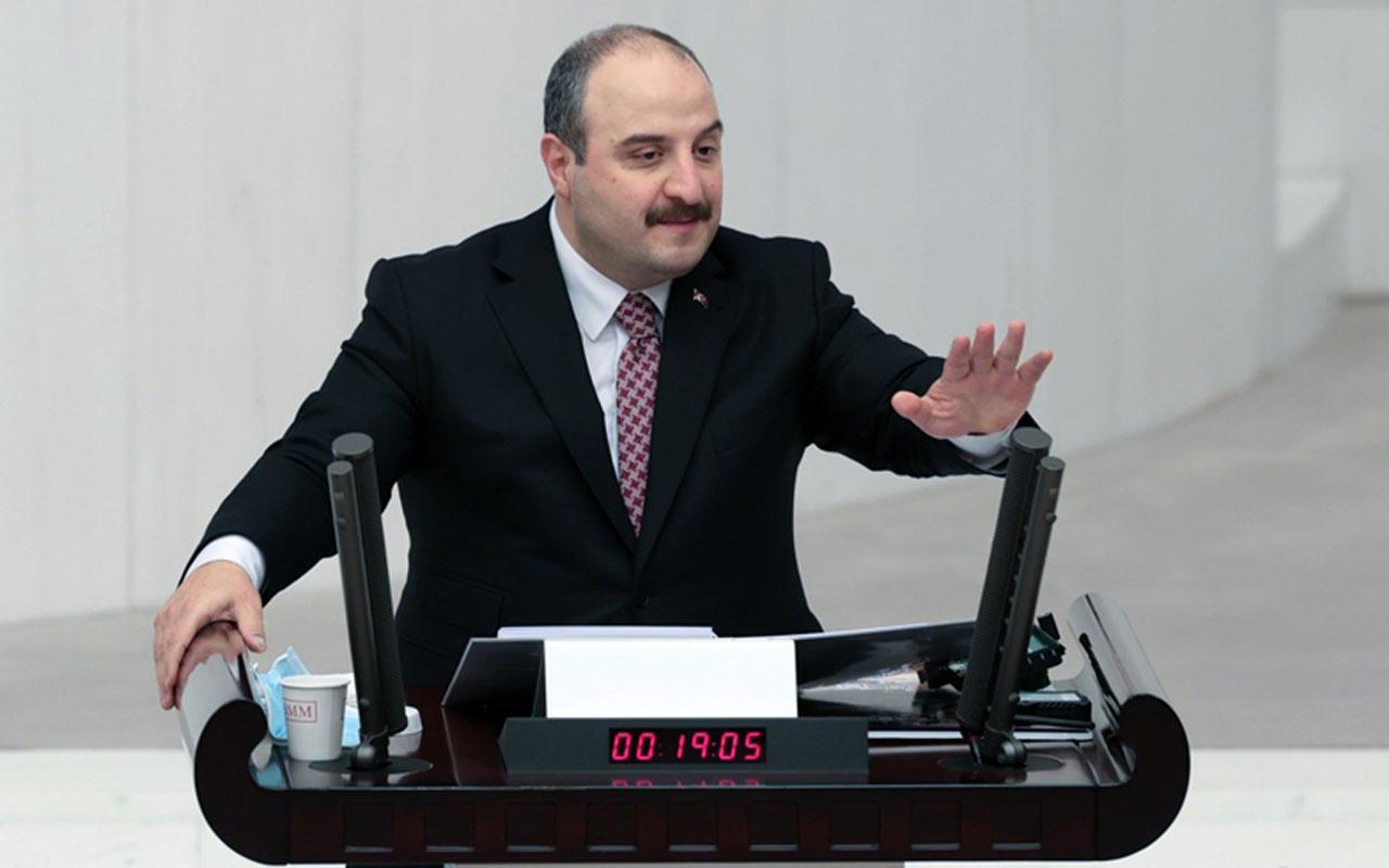 Bakan Mustafa Varank'tan HDP'li Garo Paylan'a SİHA tepkisi