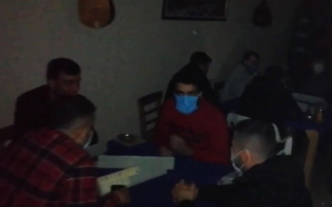 Adana'da mum ışığında kumara 100 bin lira ceza