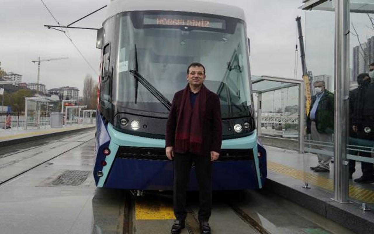 Ekrem İmamoğlu: Eminönü-Alibeyköy tramvay hattı 1 Ocak'ta hizmete giriyor