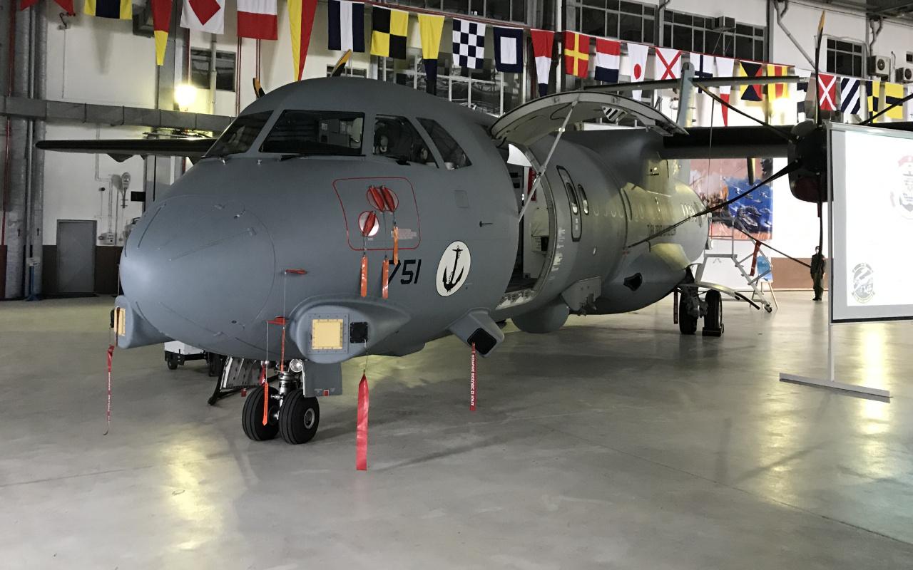 Meltem-3 Projesi'nin ilk P-72 deniz karakol uçağı hizmete başladı