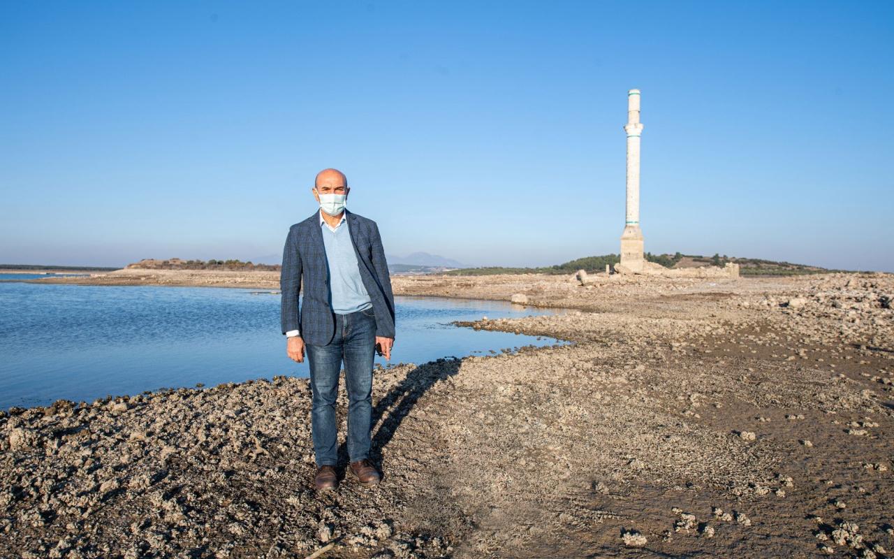 Tunç Soyer: Barajlarda seviye biraz yükseldi; ama tehlike geçmedi