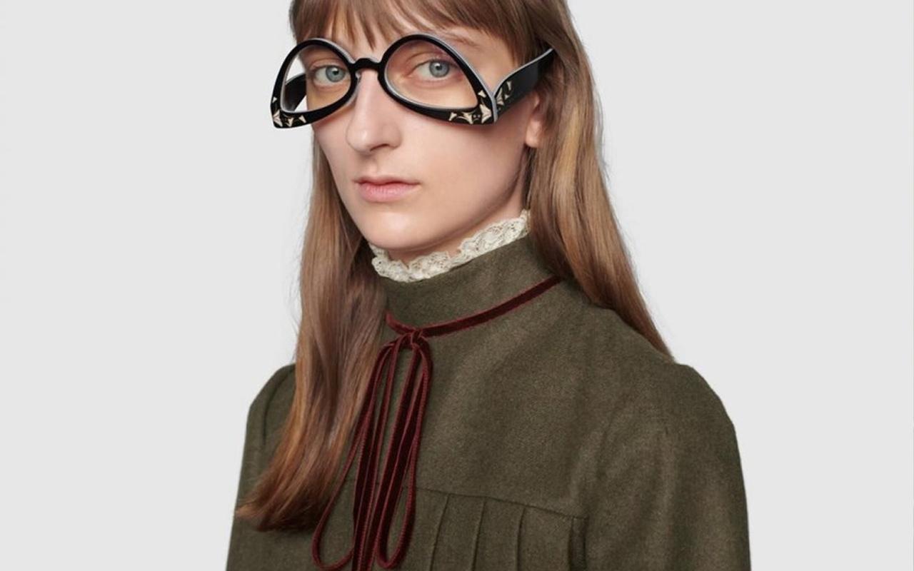 Gucci'nin ters gözlüğü Twitter'da alay konusu oldu! Fiyatı duyanları şaşkına çevirdi