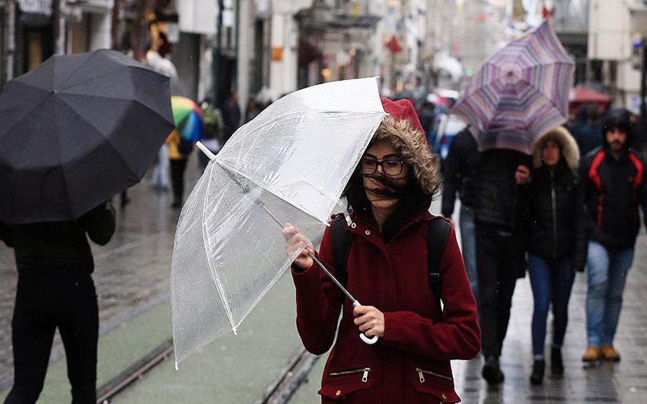 Marmara Bölgesi'nde yağışlar geçen ay yüzde 4 arttı