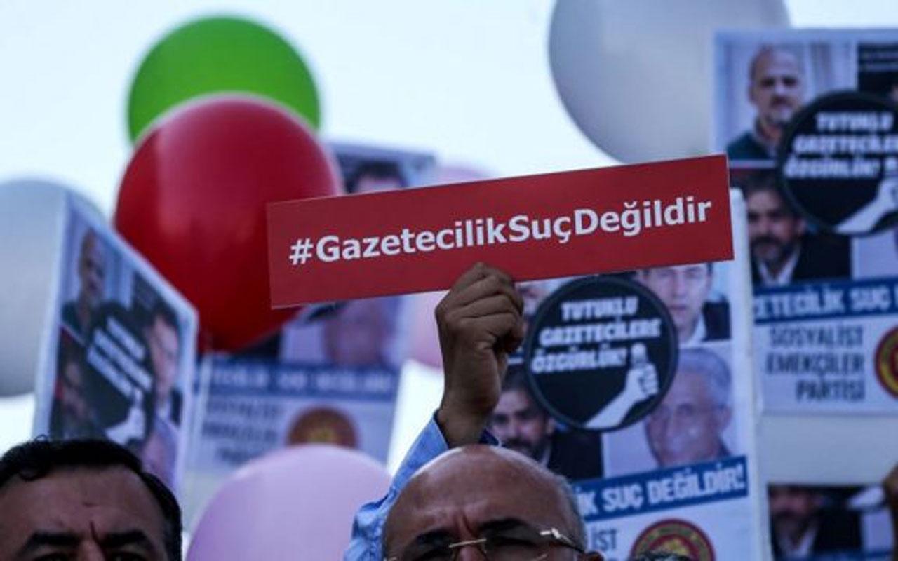 Sınır Tanımayan Gazeteciler: 387 gazeteci hapiste, Türkiye basın özgürlüğünde 180 ülke arasında 154'üncü sırada