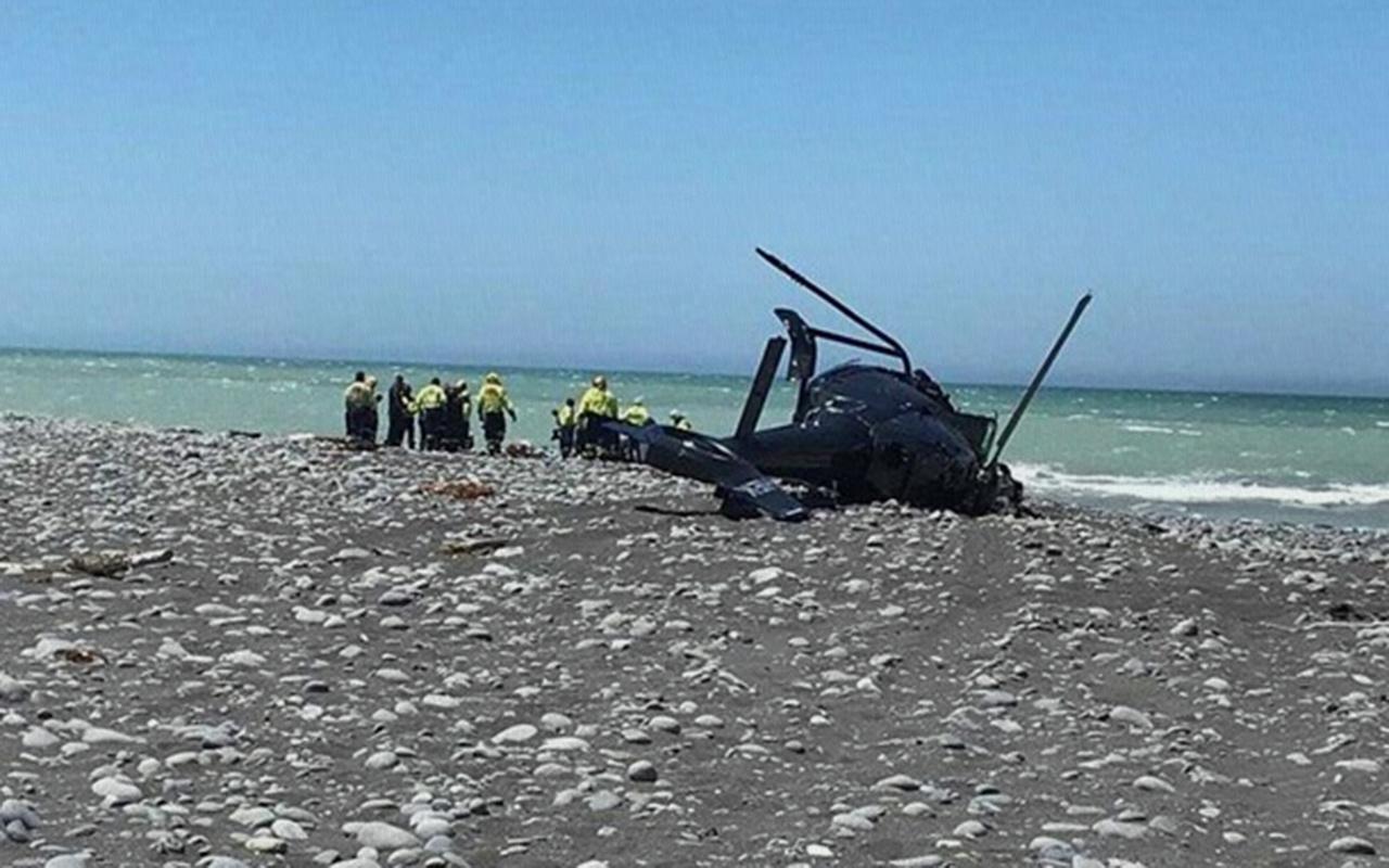 Yeni Zelanda'da helikopter düştü 2 ölü 3 yaralı