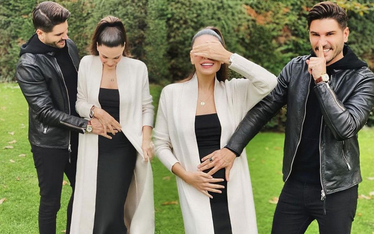 Tolgahan Sayışman ve Almeda Abazi'nin ikinci bebekleri cinsiyeti belli