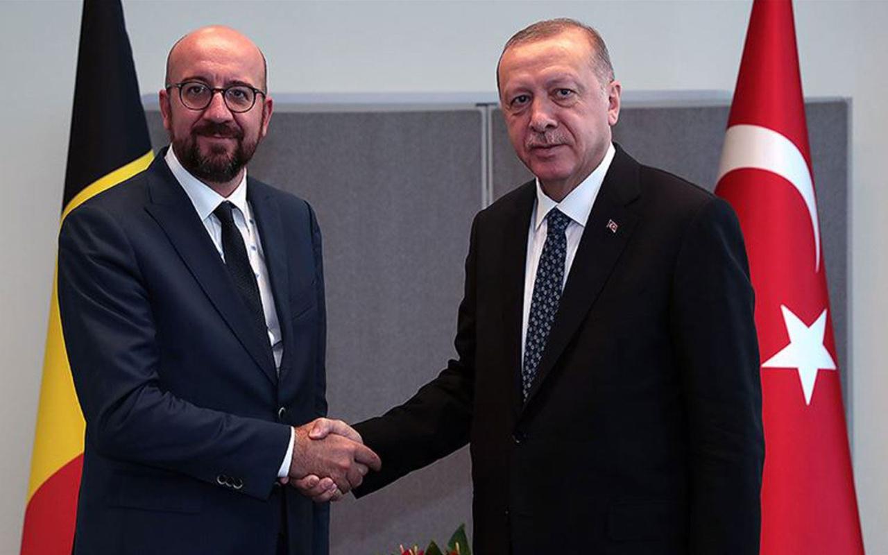 Erdoğan, AB Konseyi Başkanı ile görüştü: Türkiye-AB ilişkileri kısır döngüden kurtulmalı