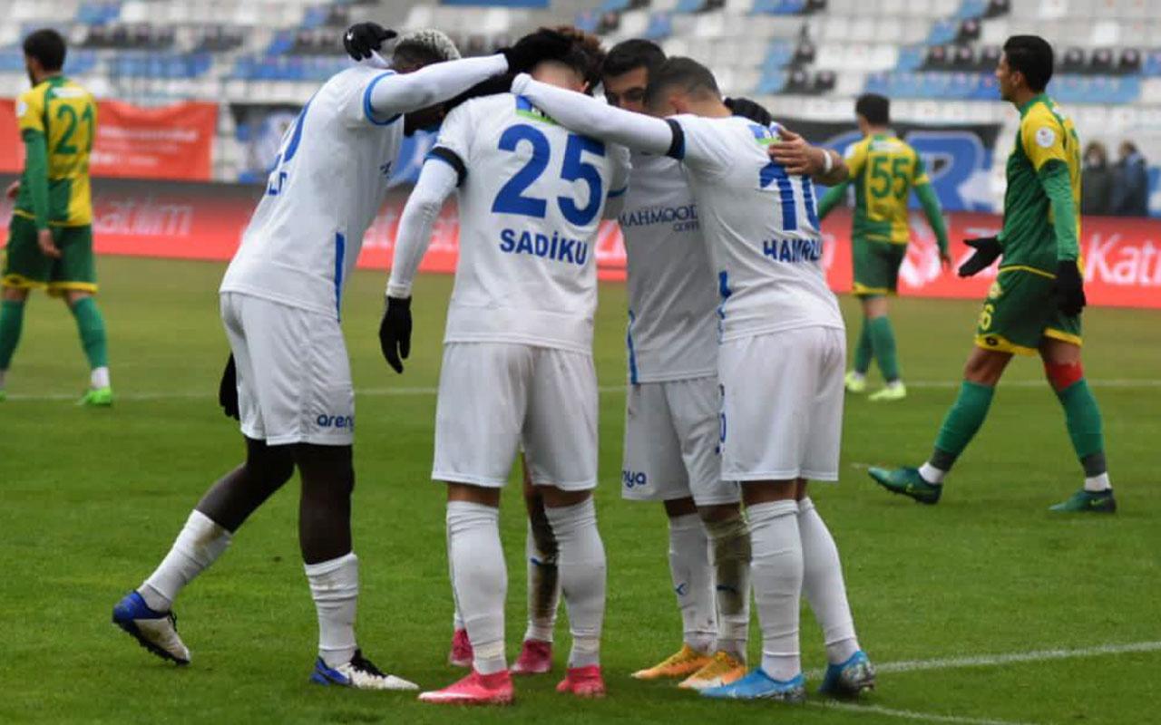Erzurumspor 5 attı kupada tur atladı