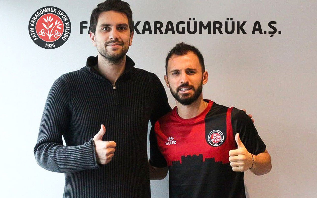 Fatih Karagümrük, Emre Çolak'ı transfer etti