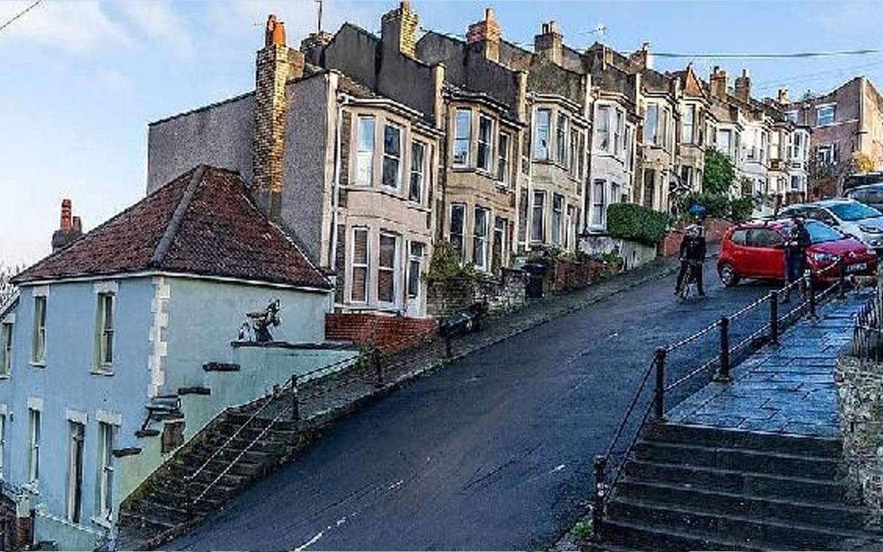 İngiltere'de duvarına graffiti yapıldı zengin oldu evin değeri 17 kat arttı