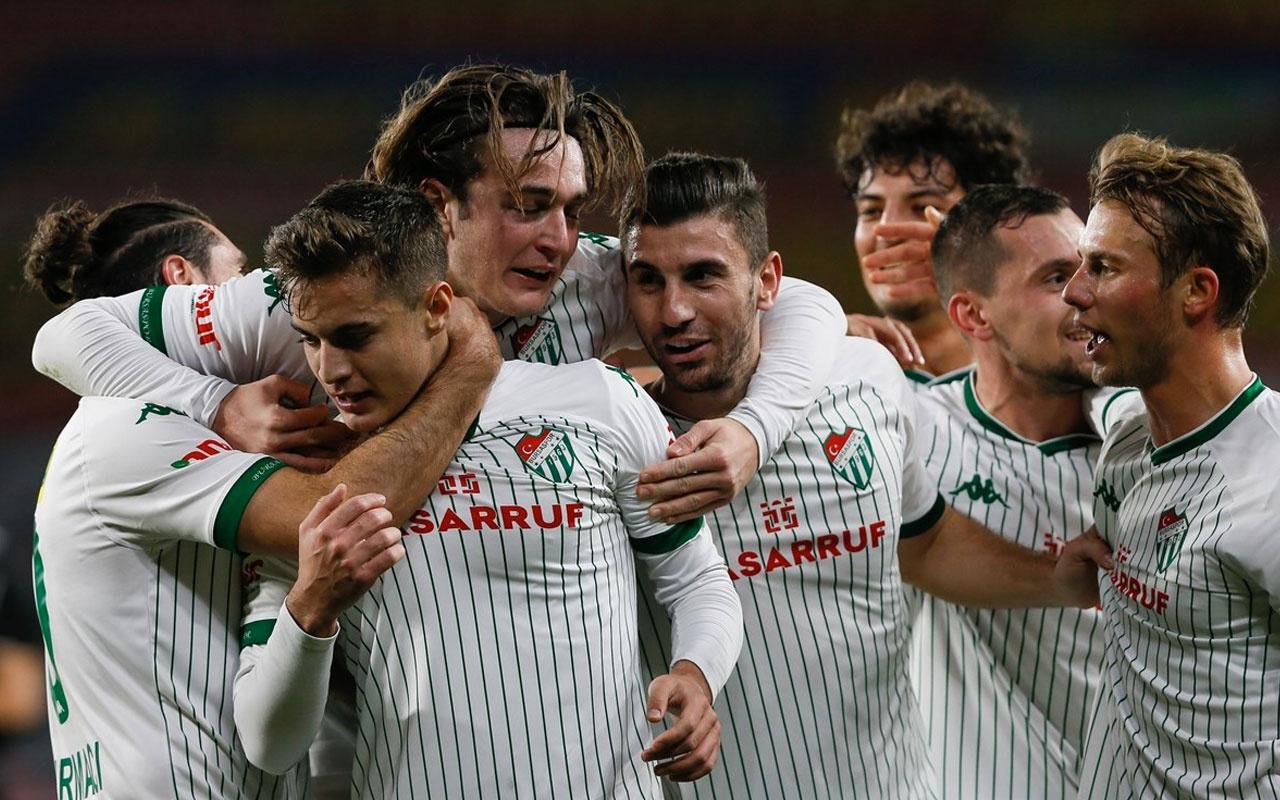 Gol düellosunda Bursaspor tur atladı