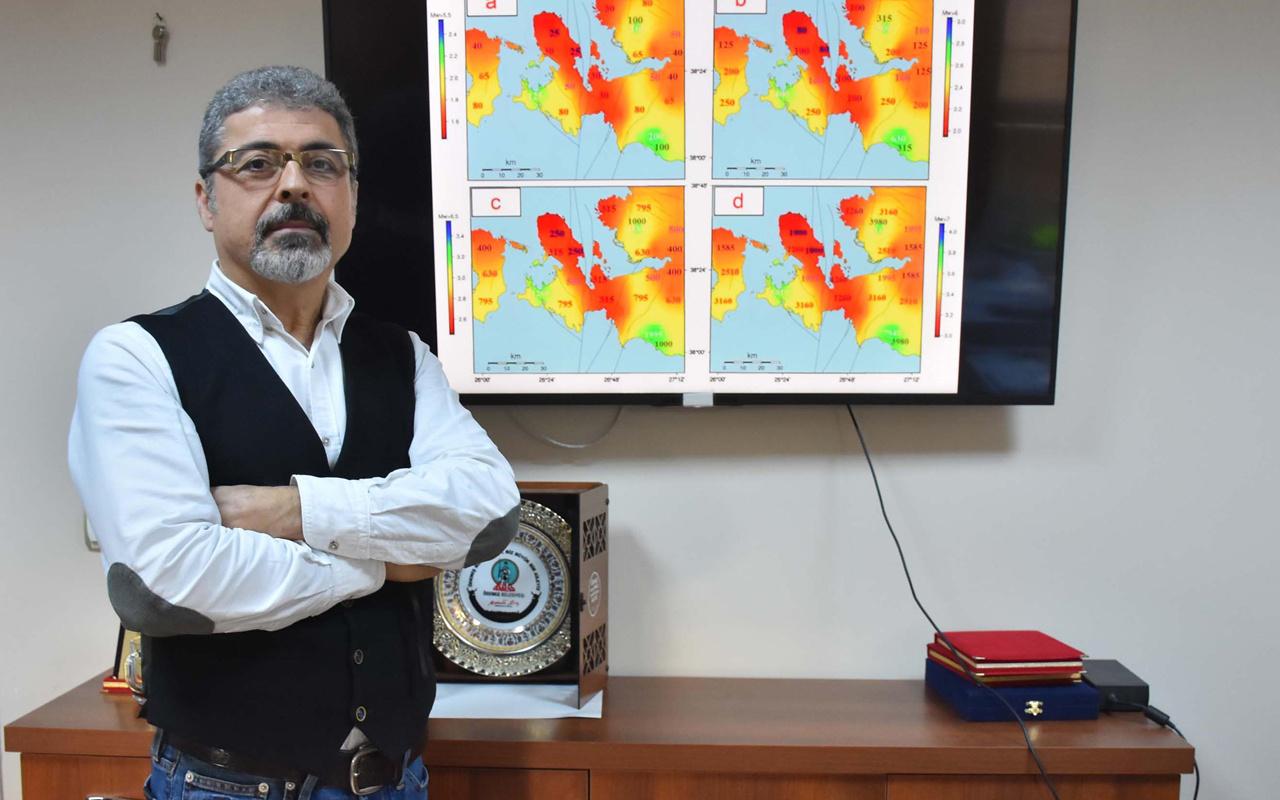 İzmir'de yıkıcı bir deprem olma olasılığı yüksek! Prof. Dr. Hasan Sözbilir: Hazırlıklı olunmalı