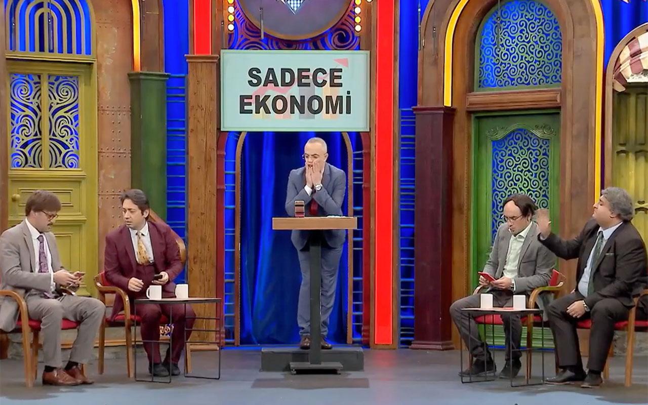 Berat Albayrak'ın istifası Güldür Güldür Show'da! Medyaya çuvaldız batırıldı