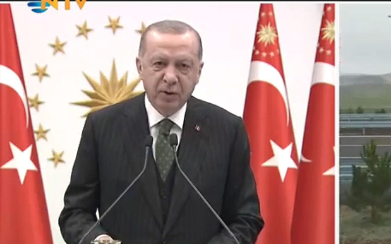 Cumhurbaşkanı Erdoğan ABD'ye rest çekti iki kat fazlasıyla çalışacağız