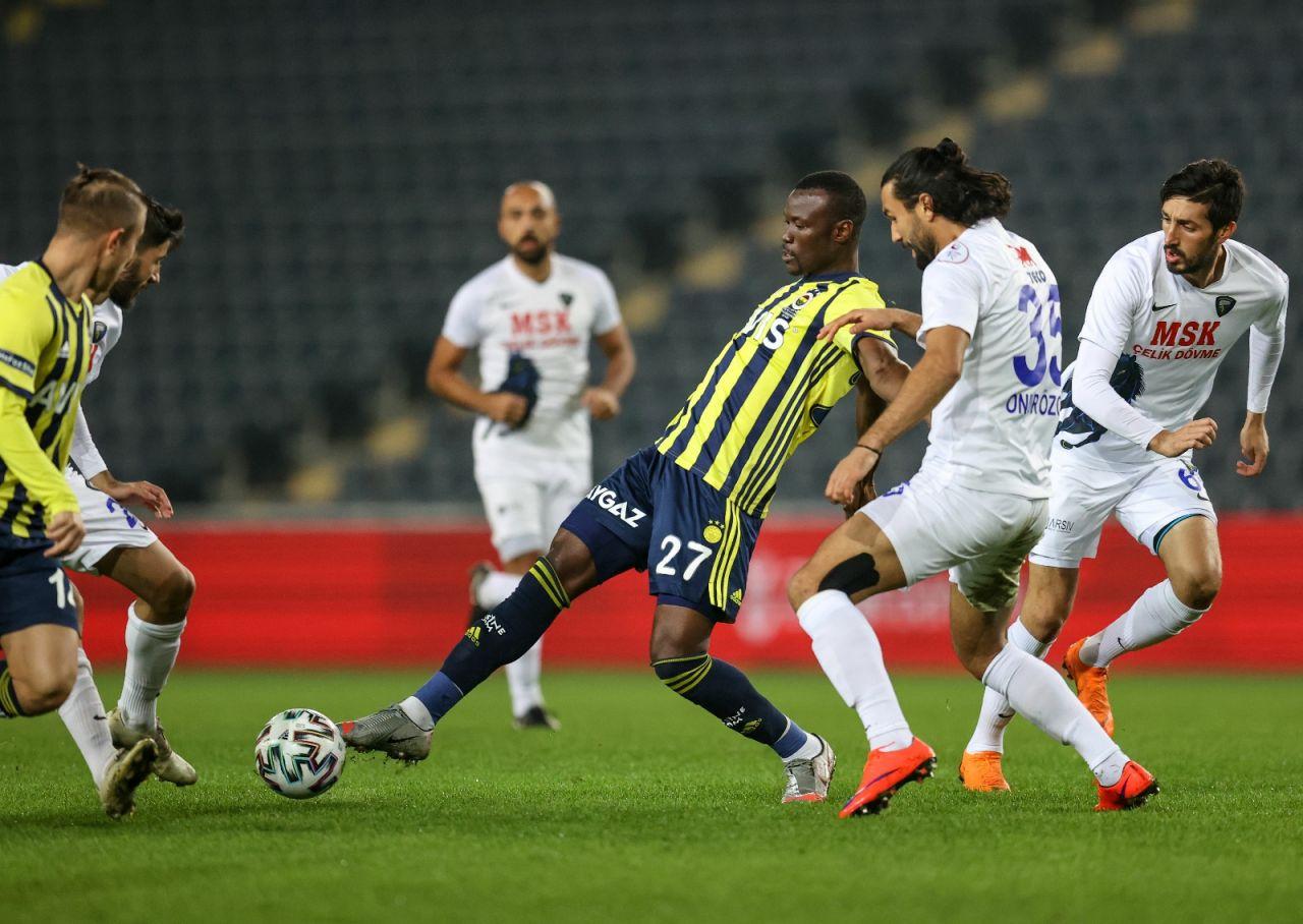 Fenerbahçe kupada Karacabey Belediyespor'u tek golle geçti