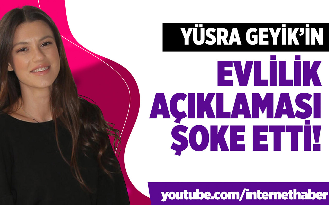 Arka Sokakların Zeliş'i Yüsra Geyik'ten bomba evlilik açıklaması!
