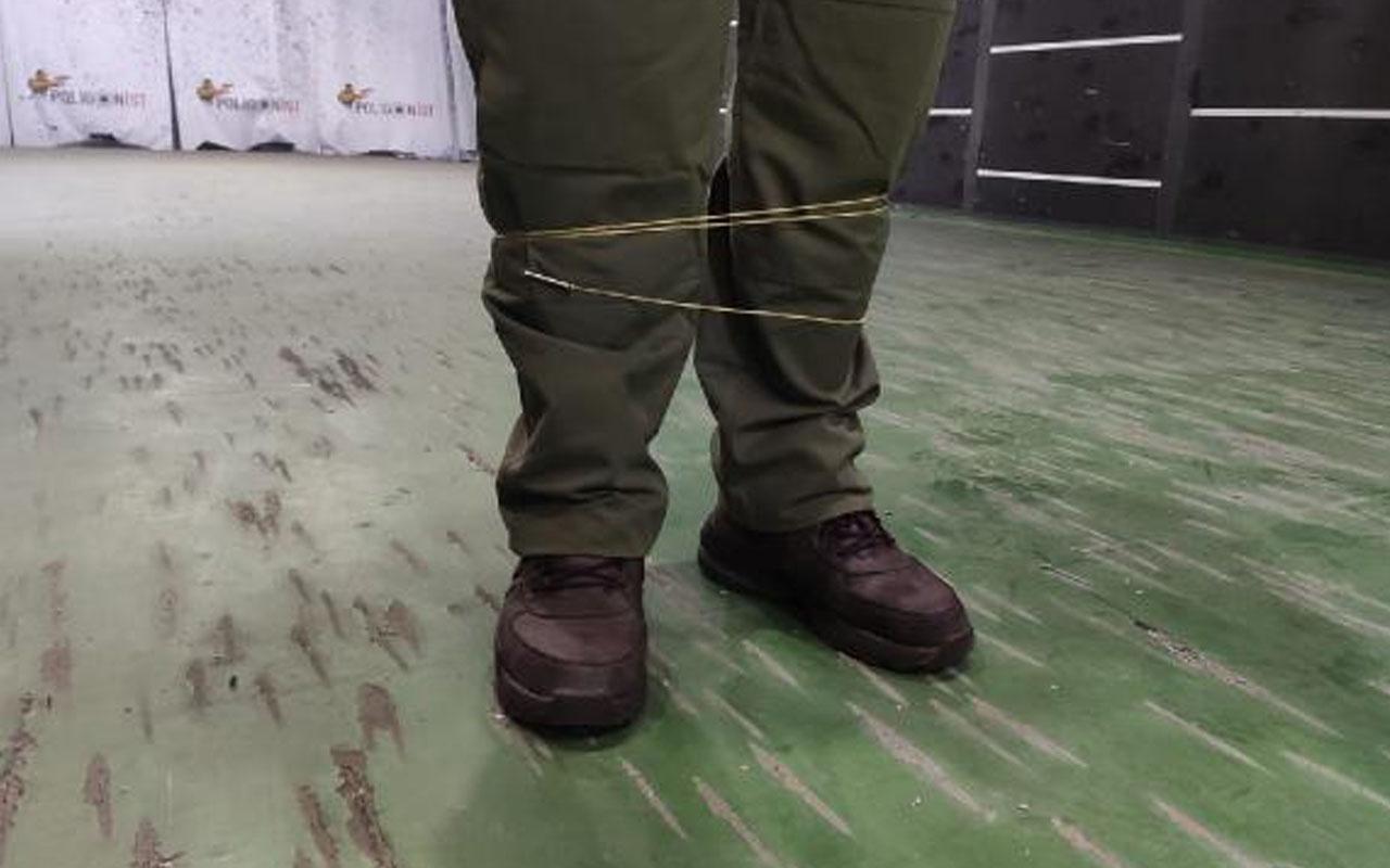 Uzaktan kelepçeleme cihazı Türkiye'de! 8 metre mesafeden hedefi etkisiz bırakıyor