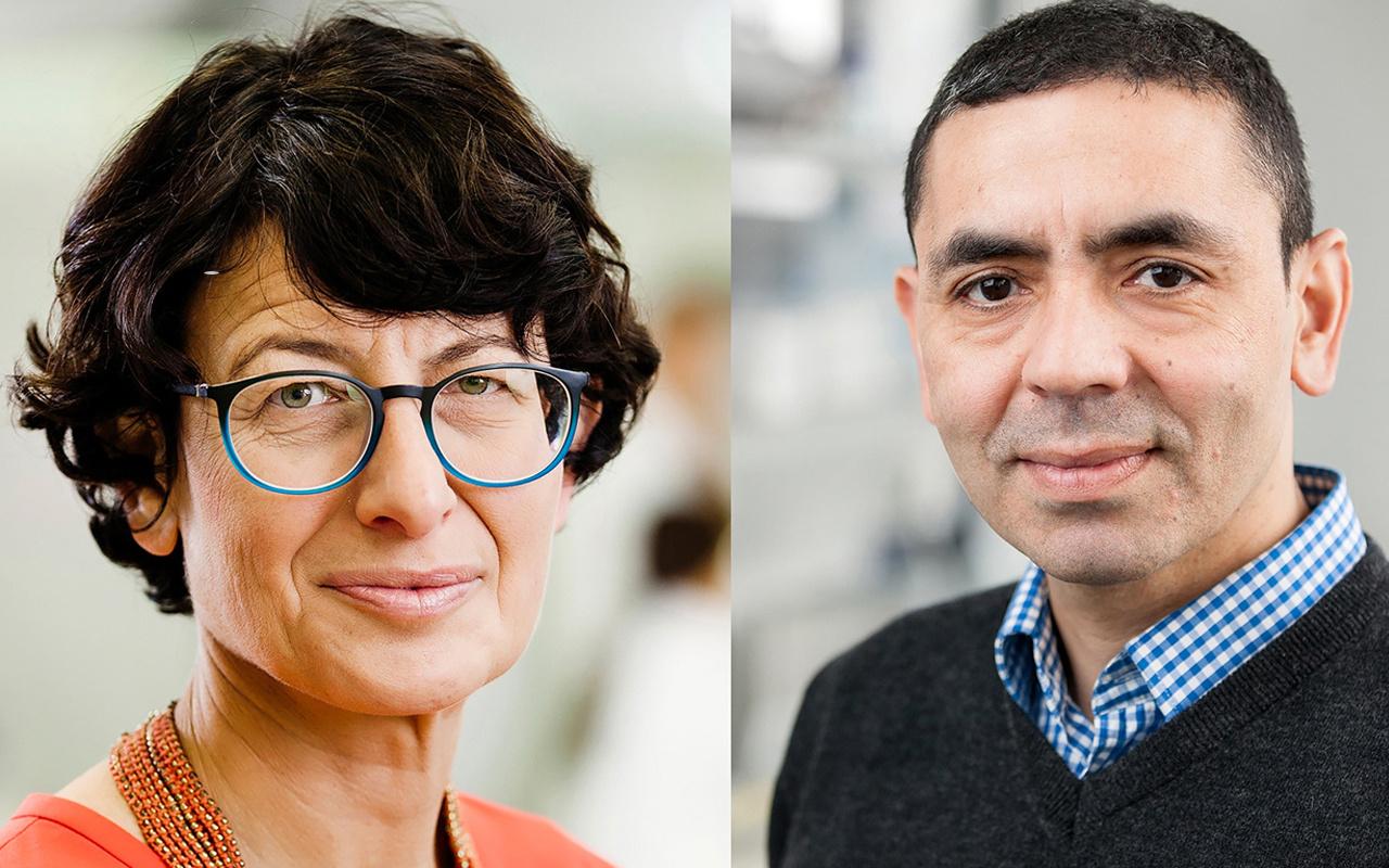 Korona aşısını bulan Uğur Şahin ve eşi Özlem Türeci 'yılın kişisi' seçildi