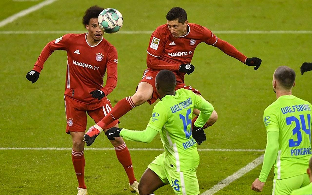 Bayern Münih, Wolfsburg'u Lewandowski'yle yıktı