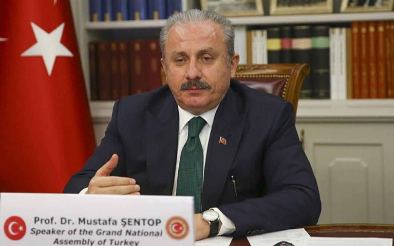 TBMM Başkanı Mustafa Şentop: Dünyanın en cömert ülkesi olmakla gurur duyuyoruz