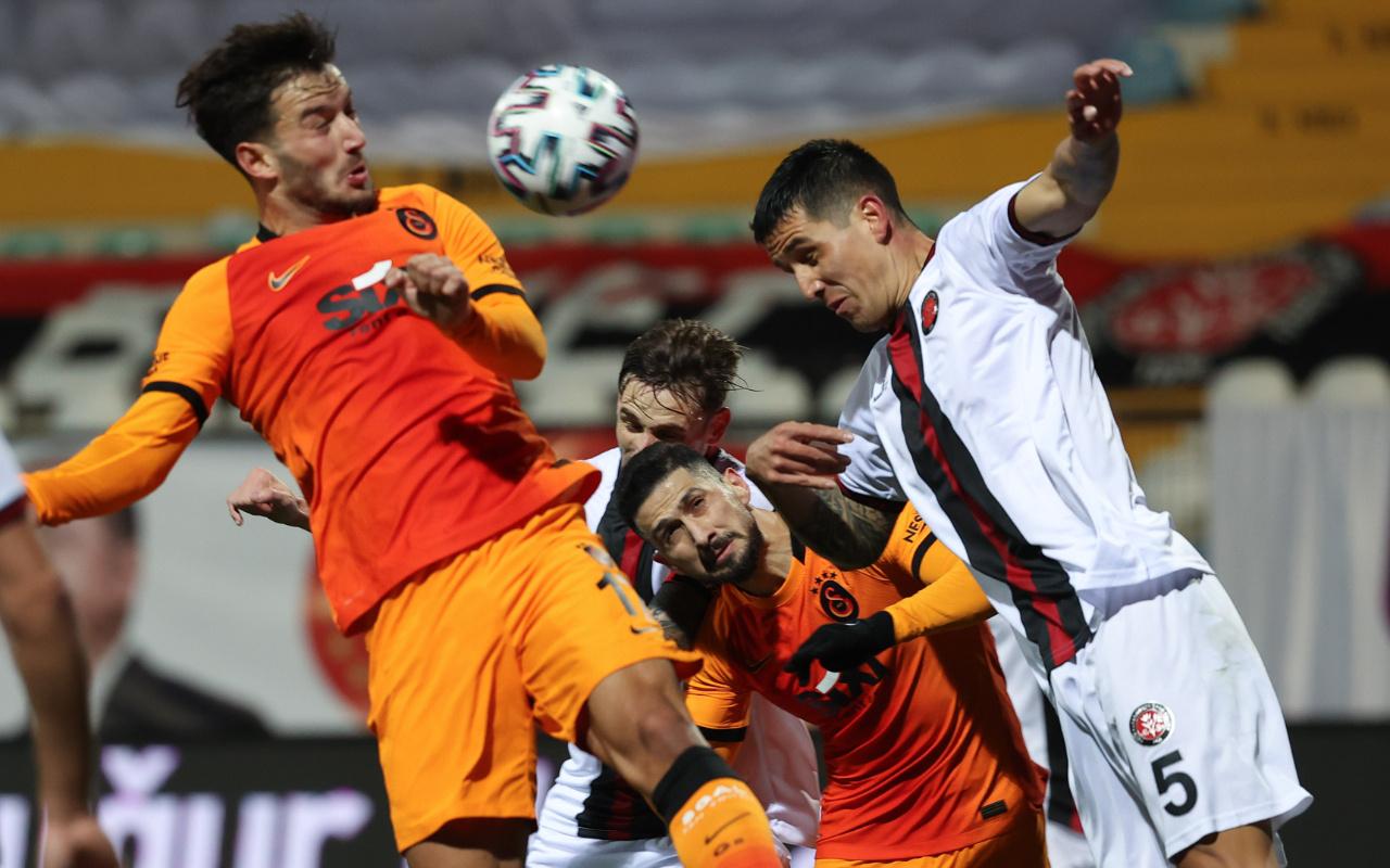 Fatih Karagümrük Galatasaray maçı golleri ve geniş özeti