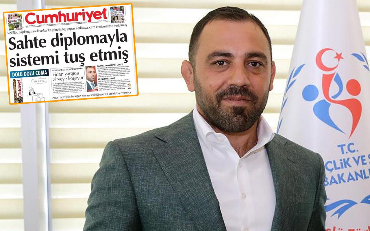 Hamza Yerlikaya'nın diplomasının sahte olduğu iddialarını çürüten belgeler
