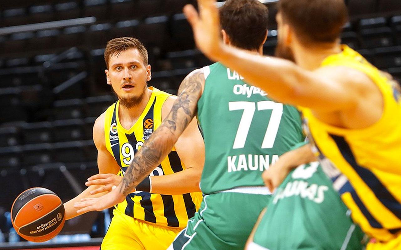 Fenerbahçe Beko, Litvanya'da farklı mağlup oldu