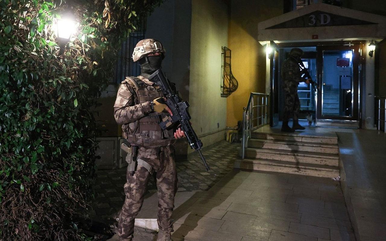 DHKP-C'ye İstanbul merkezli 5 ilde operasyon