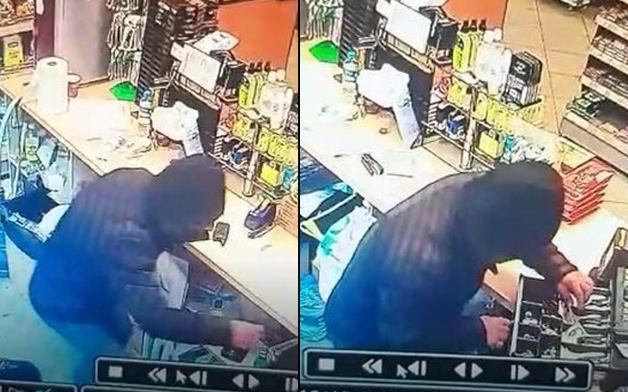 Afyonkarahisar'da hırsız yazar kasayı boşalttı! Sadece 65 lirasını harcayabildi