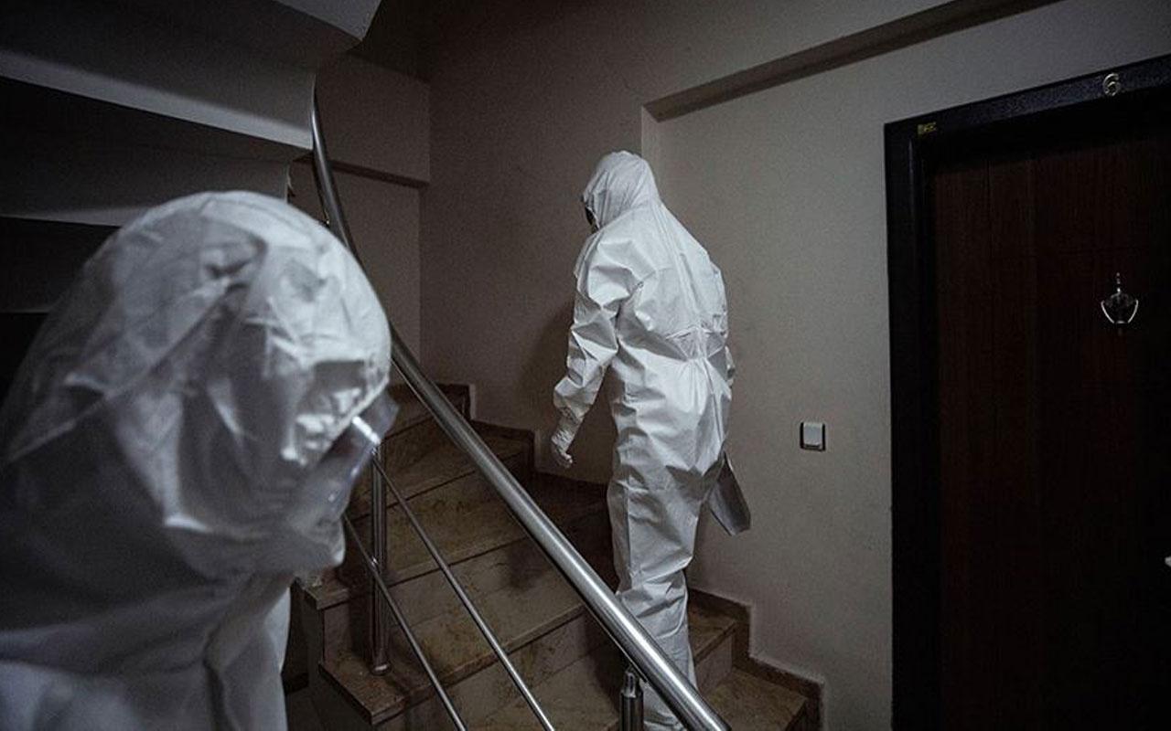 Ankara'da mutasyonlu virüs paniği! 11 kişide koronavirüs çıkan binaya karantina