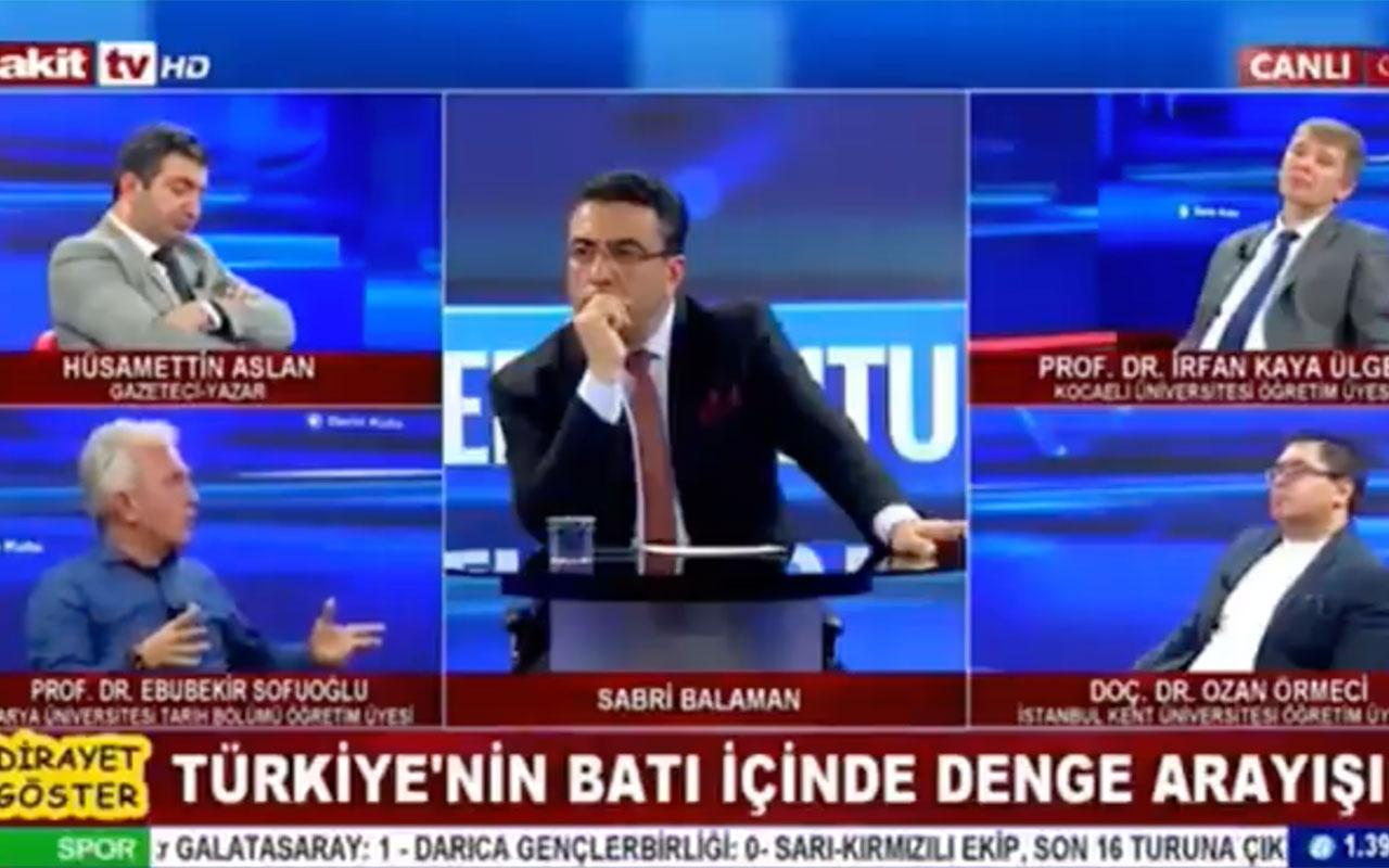 'Üniversiteler fuhuş evi' diyen Ebubekir Sofuoğlu kıvırdı! Üniversite değil 'yapılar' demişmiş
