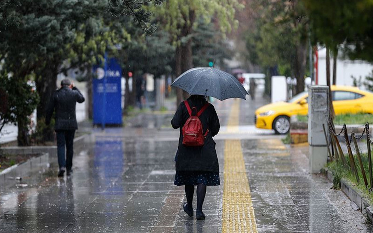 Ankara Valiliği'nden sağanak yağış uyarısı