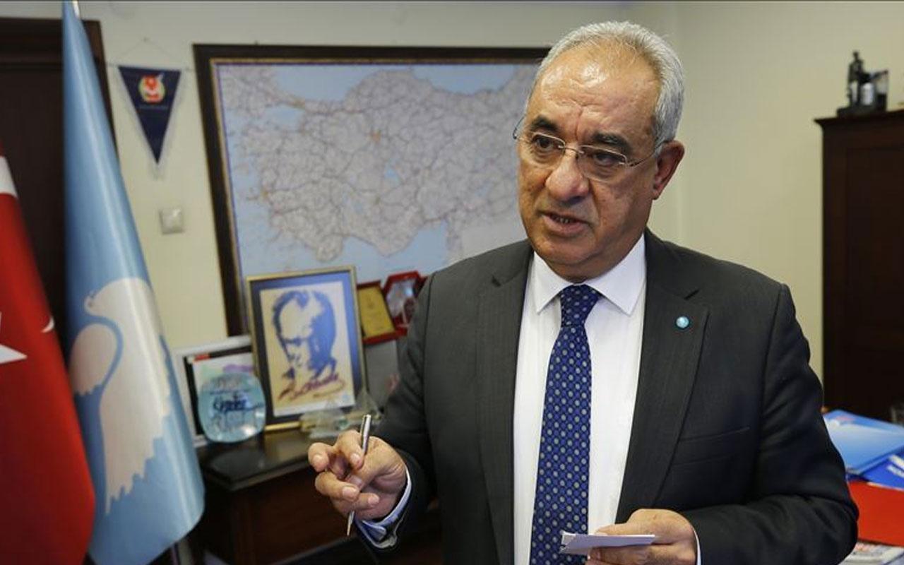 DSP Genel Başkanı Önder Aksakal, ABD Başkanı seçilen Biden'ı kutladı