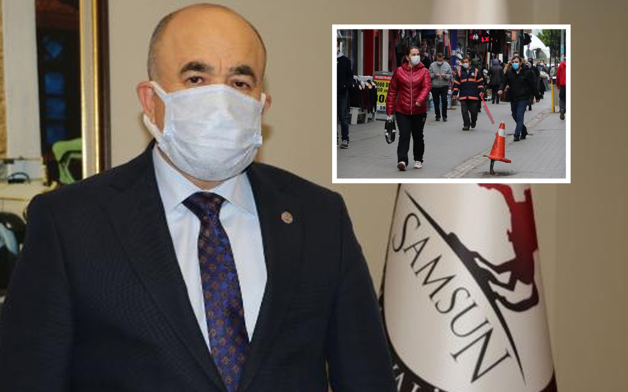 Samsun valisinden koronavirüs uyarısı: Hara-kiri yapmak gibi bir şey artık bu olaylar