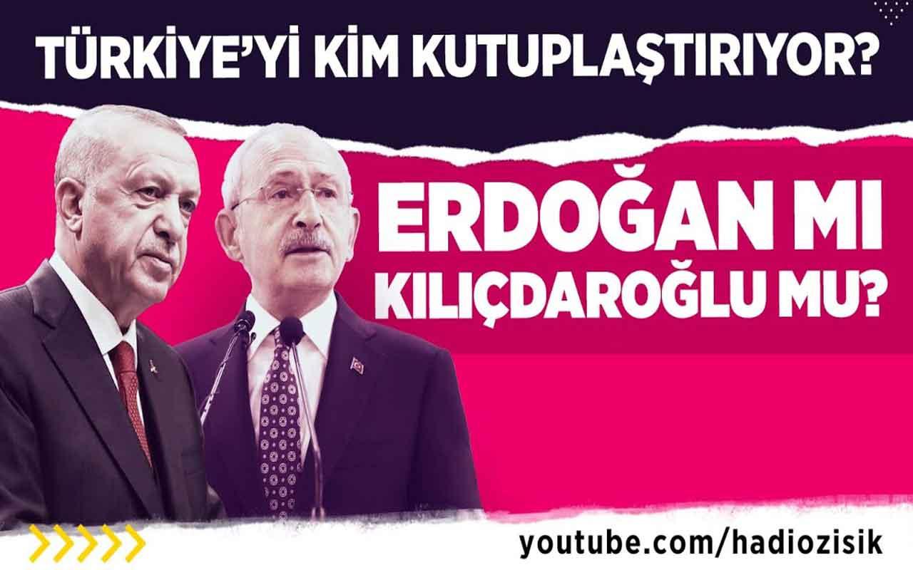 Türkiye'yi kim kutuplaştırıyor? Tayyip Erdoğan mı Kemal Kılıçdaroğlu mu?