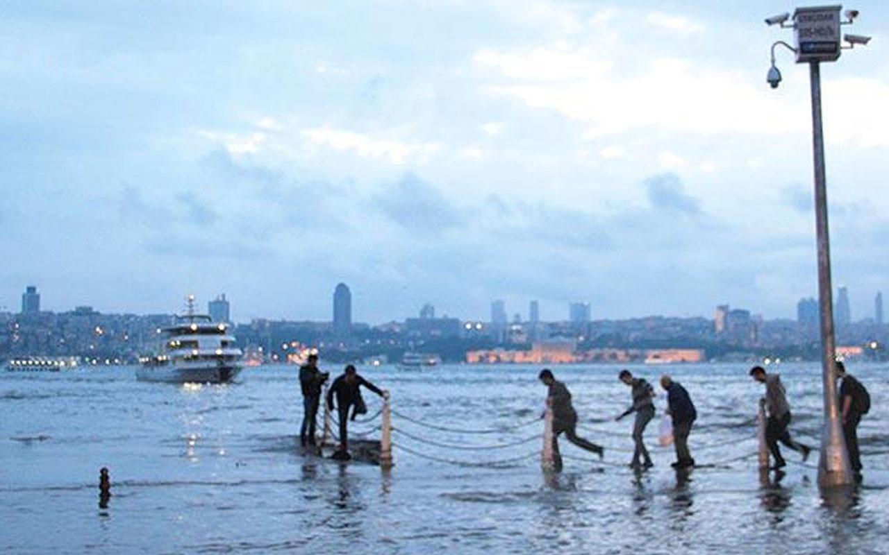 İstanbul'da deniz seviyesi 20 santimetre yükseldi