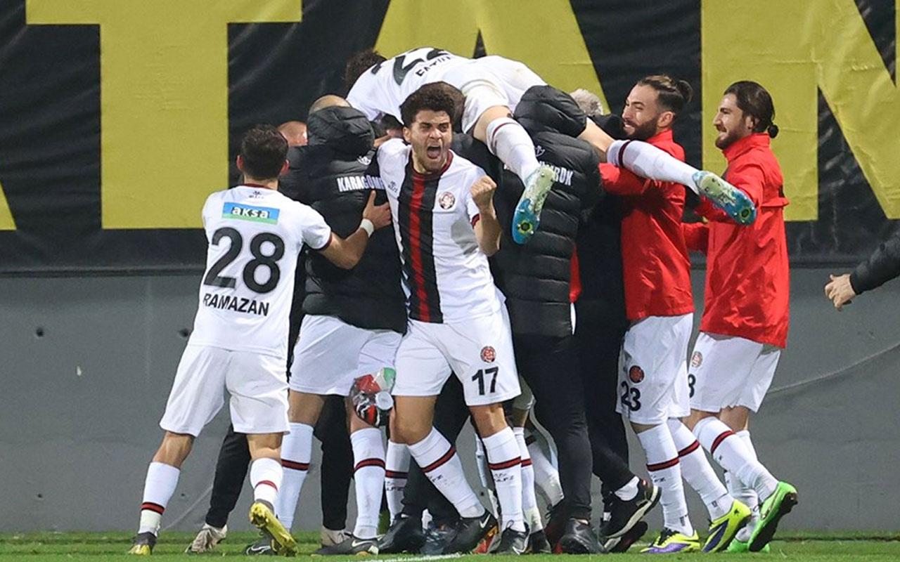 Karagümrük, Galatasaray'ı 60 yıl sonra yendi