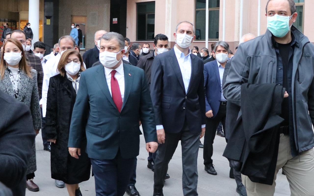 Bakanlar Fahrettin Koca ve Abdulhamit Gül Gaziantep'te! Patlamaya soruşturma açıldı
