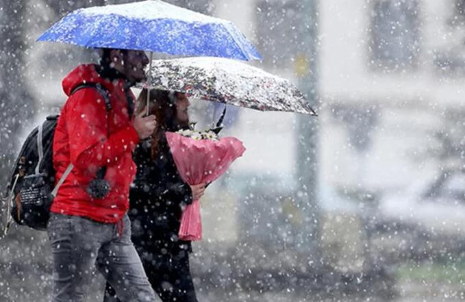 Kar ve sağanak etkili olacak! Meteoroloji bölge bölge uyarı geçti