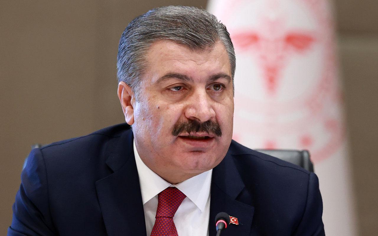 Sağlık Bakanı Fahrettin Koca 'asılsız bilgiler yayıldığı görülmüştür' diyerek detayları açıkladı