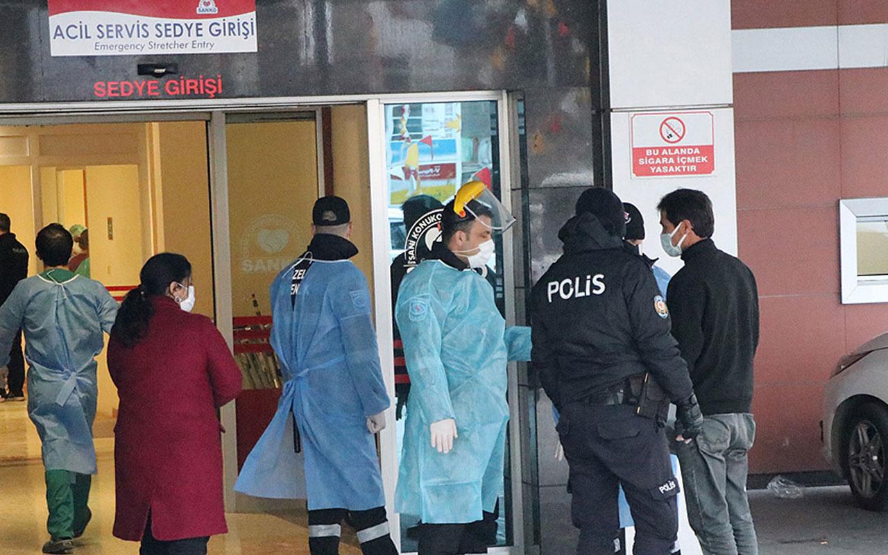 Gaziantep'te hastanede oksijen tüpü patladı 8 korona hastası öldü