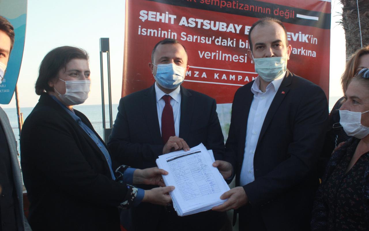 Antalya'da parka verilen isim tartışması