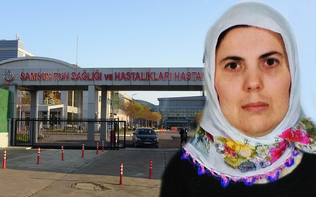 Samsun'da akıl hastanesinde dehşet! Koğuş arkadaşını yastıkla boğarak öldürdü