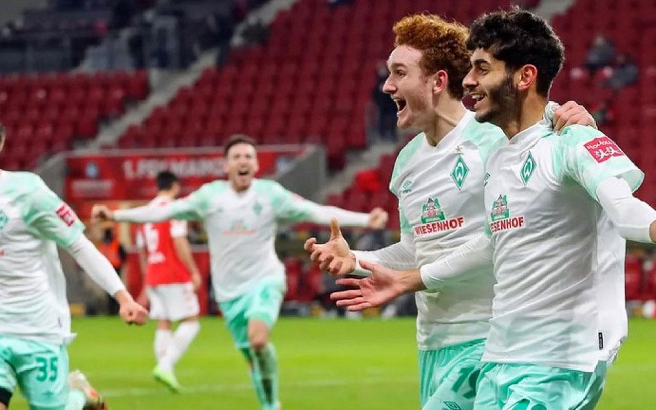 Eren Dinkçi, ilk maçında Werder Bremen'e 3 puan kazandırdı
