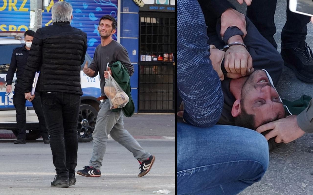'İmdat' diye bağırdı çığlık attı! Antalya'da genç adam polise zor anlar yaşattı