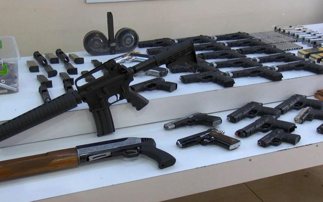 İstanbul'da yasa dışı silah ticareti operasyonu