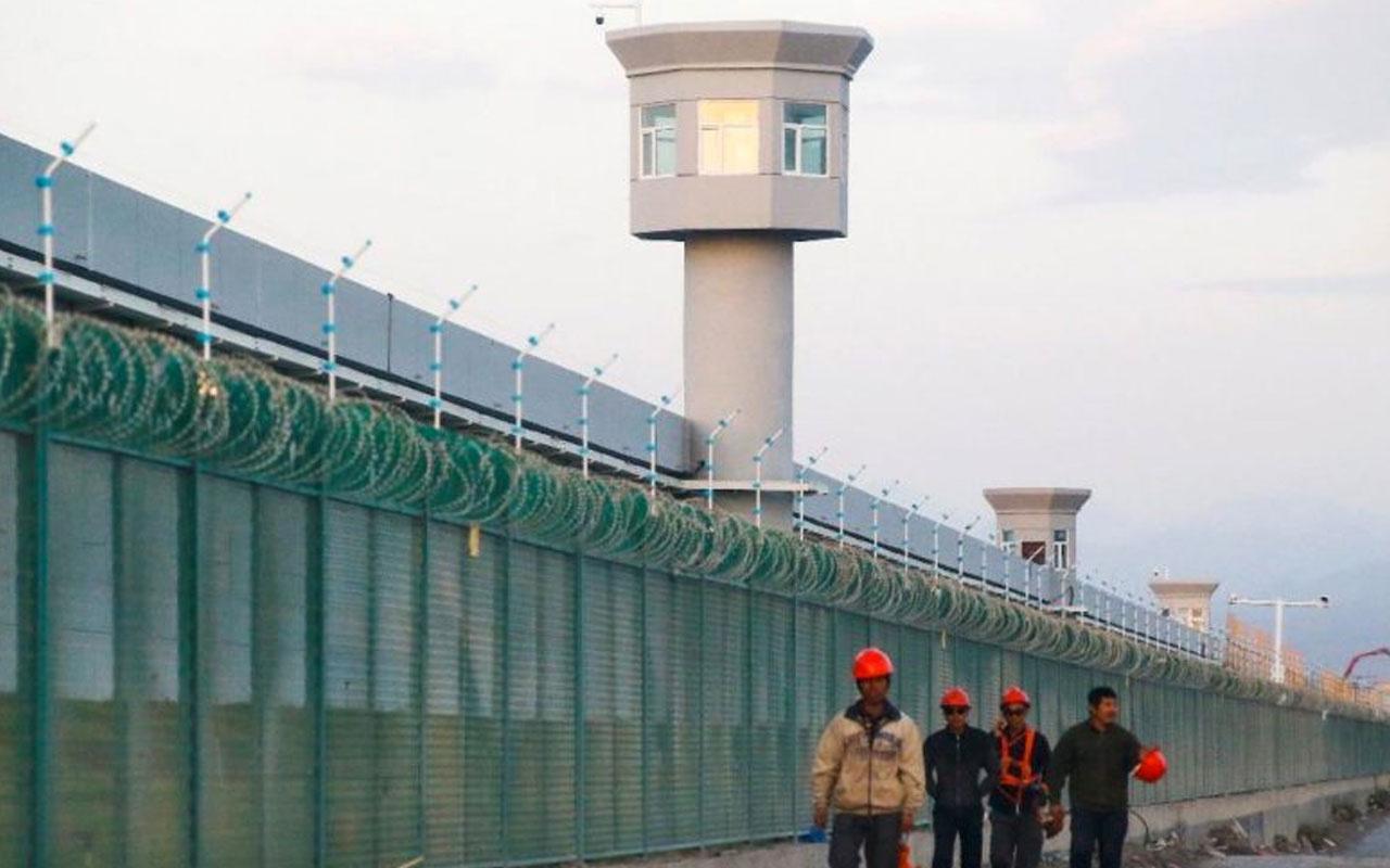 Washington Post Çin'de zorla çalıştırılan Uygur Türklerini yazdı Çin yeni cephe açtı