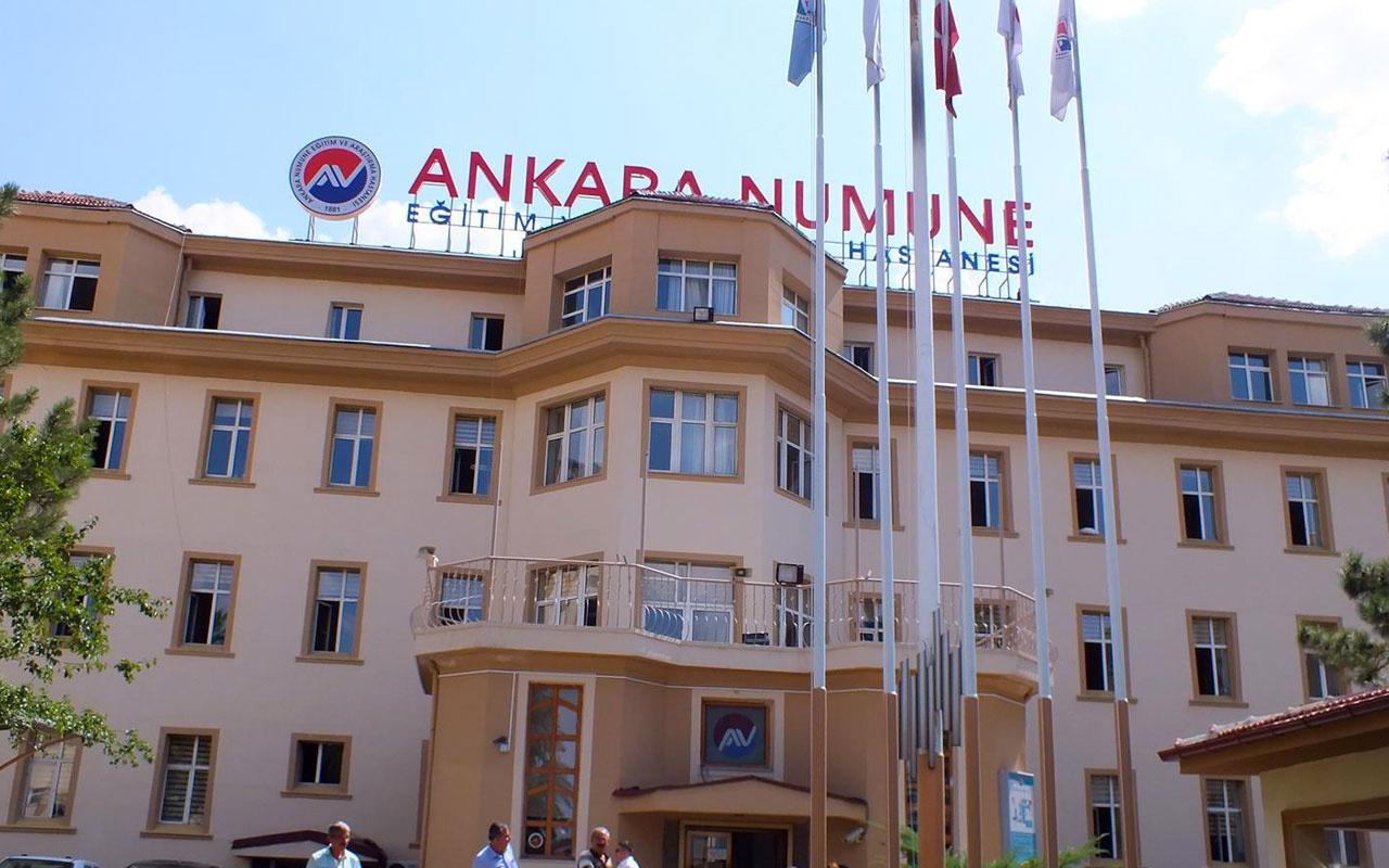 Ankara Numune Eğitim ve Araştırma Hastanesi 737 bin TL'ye tekrar açılacak!