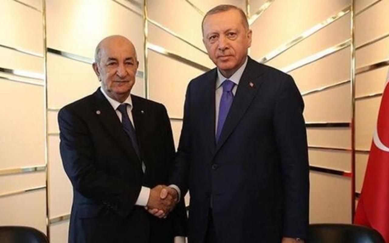 Erdoğan Cezayir Cumhurbaşkanı Tebbul ile telefonda görüştü