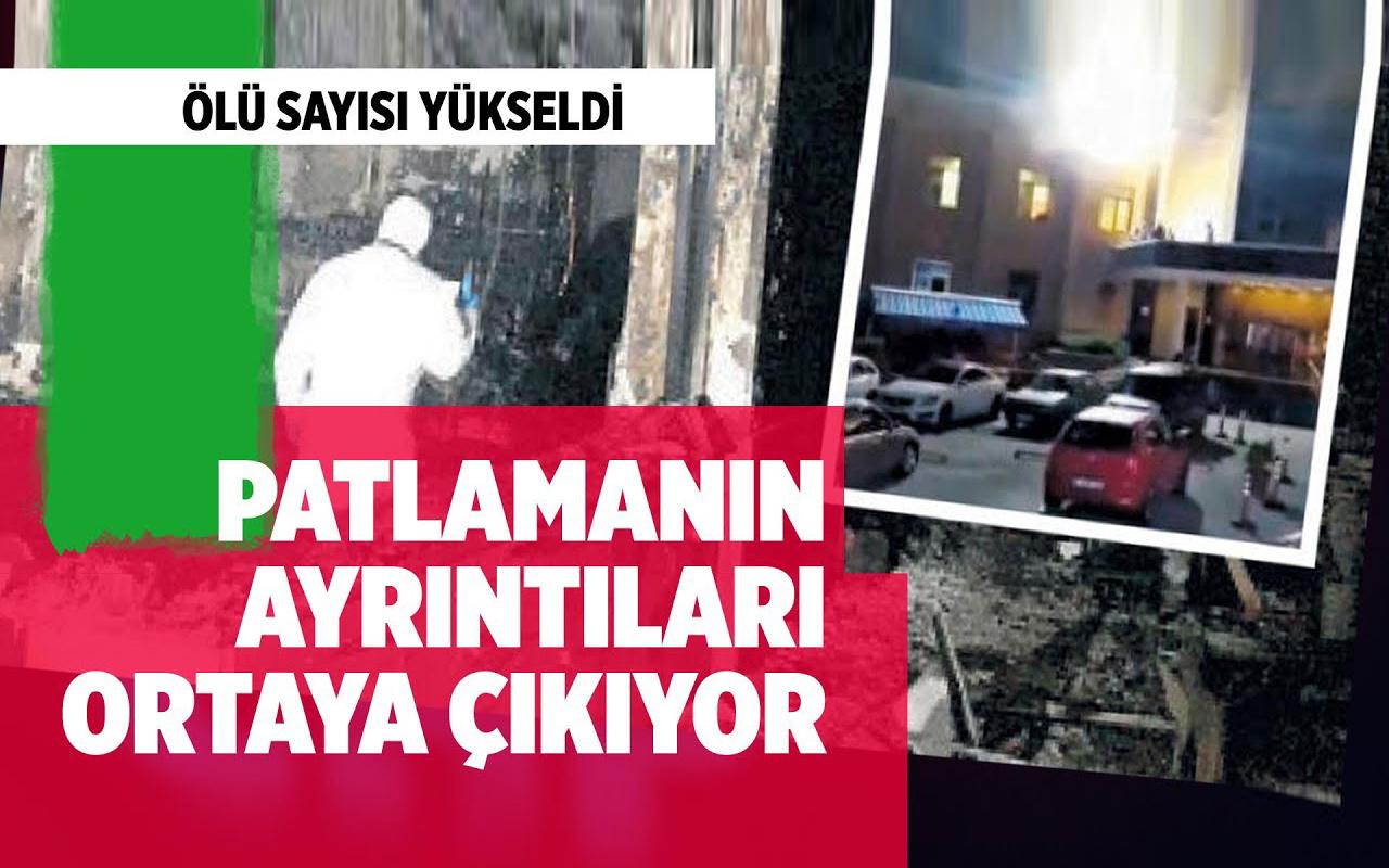 Gaziantep'teki patlamanın ayrıntıları ortaya çıkıyor